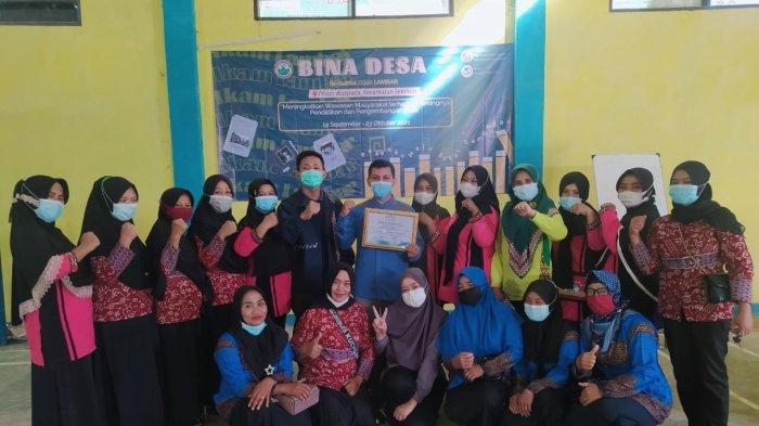 Gelar Bina Desa, Ikam Lampung Barat Terjun ke Masyarakat