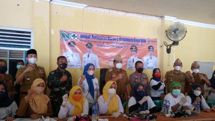 Polres Siapkan 104 Tim Dukung Percepatan Vaksinasi di Lampung Tengah
