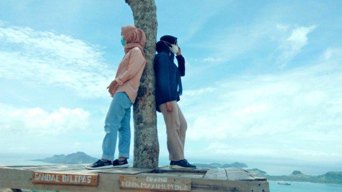 Kawasan Wisata Viral, Pengunjung Bisa Nikmati Indahnya Sunrise di Puncak Bukit Pematang Lamsel