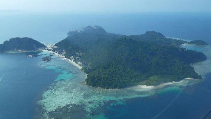 Uji Coba Landasan Helikopter di Puncak Mas dan Pulau Tegal Mas Berjalan Sukses
