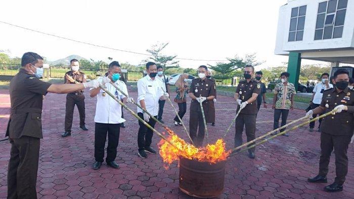 Kajari Prihatin Perkara Pidum di Pringsewu Lampung Masih Didominasi Narkotika