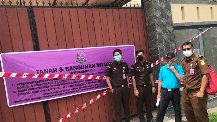 Kejati Lampung Sita Aset Tersangka Korupsi Benih Jagung di Bandar Lampung