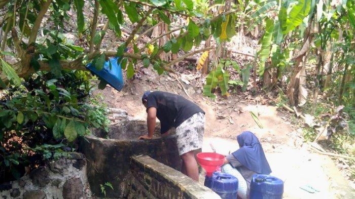Dilanda Kekeringan, Warga di Desa Ini Harus Antre Berjam-jam demi Air Bersih
