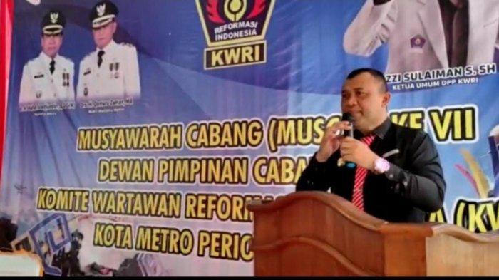 Edi Ribut Harwanto Dosen Fakultas Hukum Universitas Muhammadiyah Metro Jelaskan Kode Etik Wartawan