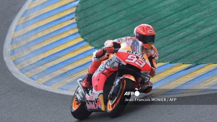 Kemarahan Marc Marquez saat Jatuh 2 Kali di MotoGP Prancis 2021, Rindu Lintasan Kering