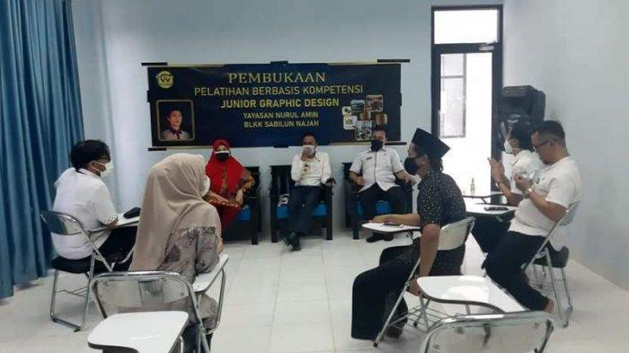 Kemenaker RI Monitoring 3 BLKK di Mesuji Lampung
