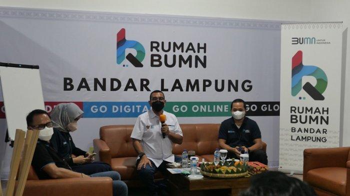 Menteri BUMN Erick Tohir Dorong UMKM Lampung Manfaatkan Pasar Digital
