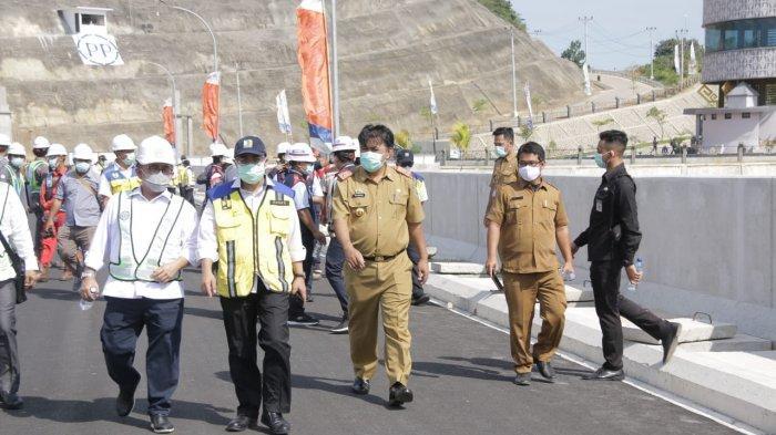 Kementerian PUPR Tinjau Kesiapan Bendungan Way Sekampung Pringsewu