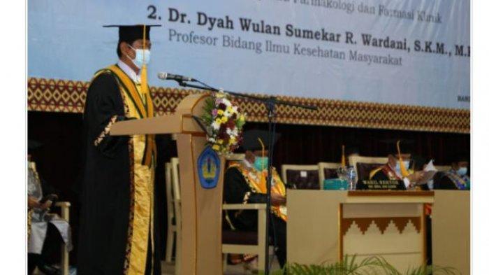 Unila Tambah Dua Guru Besar Fakultas Kedokteran