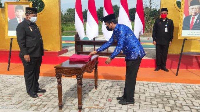 99 ASN Tulangbawang Lampung Naik Pangkat, Anthoni: Sosialisasikan Program BMW