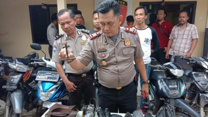 Hasil Curanmor Dipakai Minum Tuak, Bandit Spesialis Motor Tua Diringkus Polisi