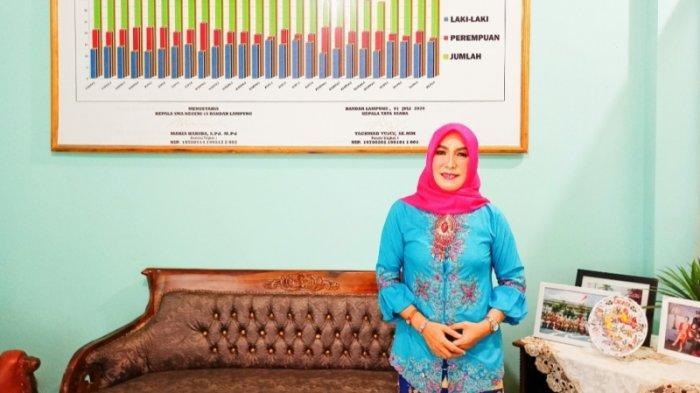 Pelepasan Siswa-siswi SMAN 15 Bandar Lampung, Maria Habiba: Semoga Makin Banyak Diterima di PTN