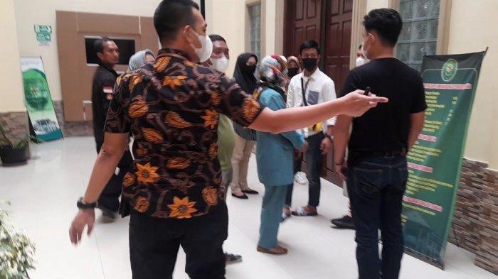 Keributan Sidang Pencabulan di Bandar Lampung Dipicu Keluarga Korban Dilarang Masuk