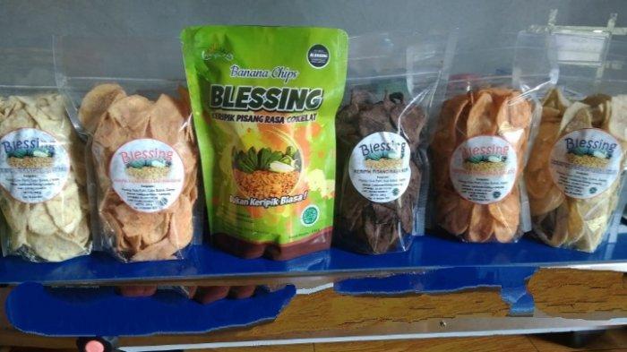 Kuliner Lampung, Keripik Pisang Blessing di Gisting Tanggamus