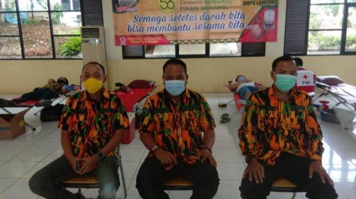 Peringati HUT ke-56 Golkar, AMPG Lampung Gelar Donor Darah