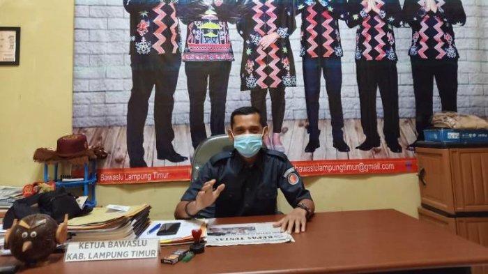 Bawaslu Lampung Timur Proses Tujuh Dugaan Pelanggaran Pilkada