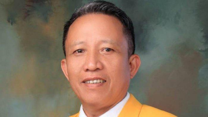 Ketua DPD II Partai Golkar Pesawaran Yusak Cari Pahala Lewat Bersepeda