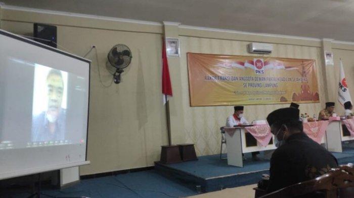 Ketua Fraksi PKS DPRD Lampung Imbau Anggota Sinergi dengan Rakyat Lawan Covid-19