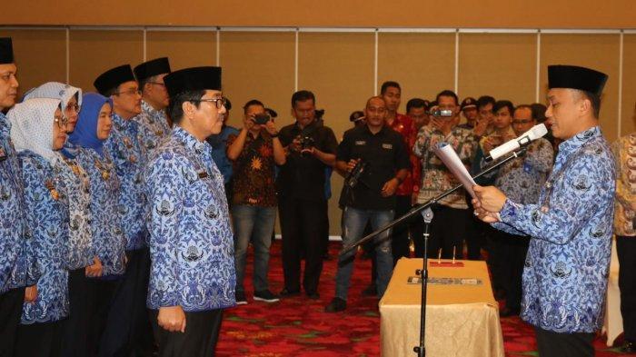 Hamartoni Dikukuhkan sebagai Ketua Dewan Pengurus Korpri Provinsi Lampung Masa Bhakti 2019-2024