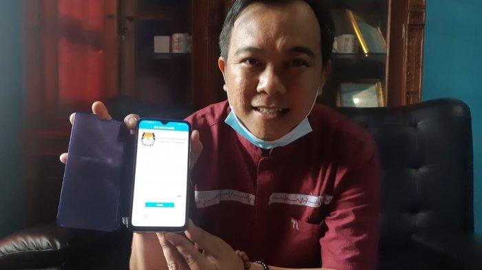 Ketua KPU Metro, Cek Data DPT Cukup Buka Aplikasi di Smarphone