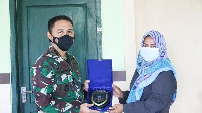 Pindah Tugas, Ketua PN Sukadana Silaturahmi ke Kodim 0429/Lampung Timur