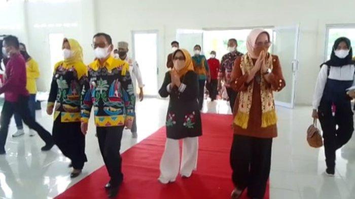 Ketua TP PKK Lampung Riana Sari Kunker ke Kabupaten Mesuji