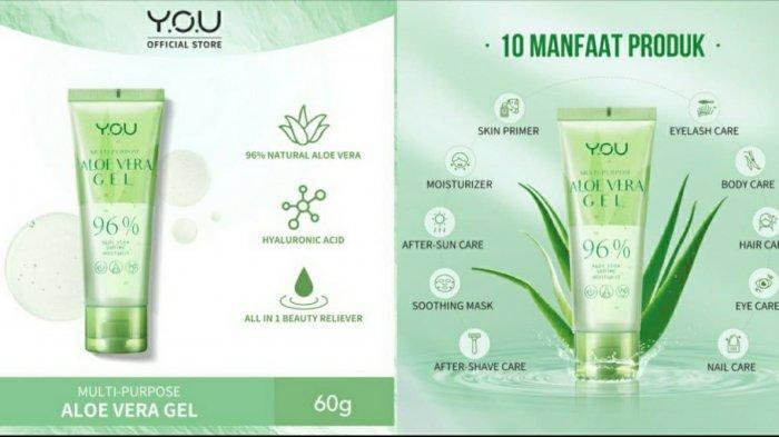 Keunggulan YOU Multi Purpose Aloe Vera 96%