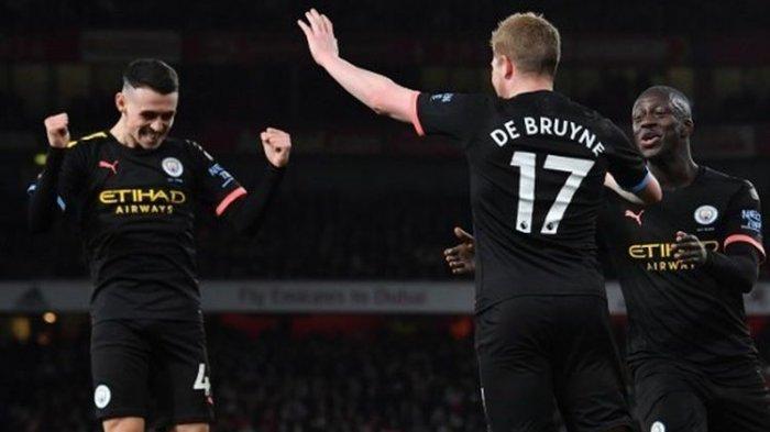 Hasil Liga Inggris - Manchester City Permalukan Arsenal dengan Skor Telak