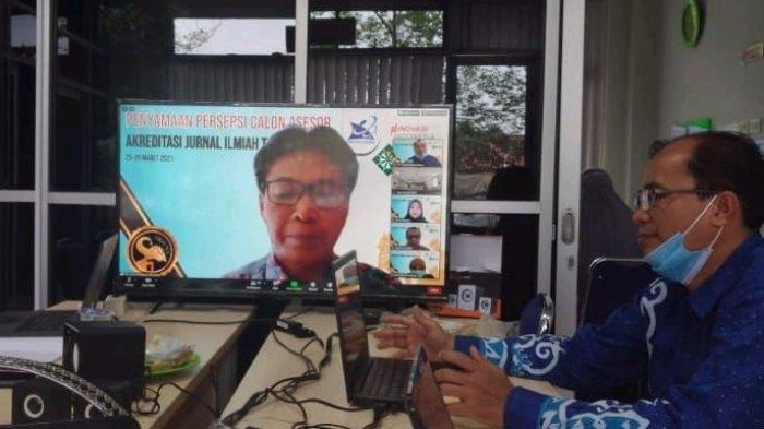 Dr Ihsan UM Metro Jadi Asesor Akreditasi Jurnal Ilmiah Nasional
