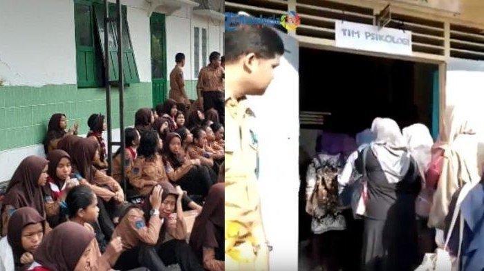 Hari Pertama Sekolah Pasca Tragedi Susur Sungai, Puluhan Psikolog Didatangkan di SMPN 1 Turi Sleman