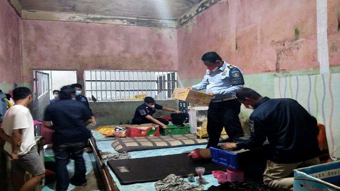 Khawatir Dipakai Berkelahi Para Napi, Petugas Lapas Way Kanan Lampung Sita Gunting