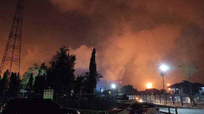 Penyebab Terbakarnya Kilang Balongan Masih Diinvestigasi