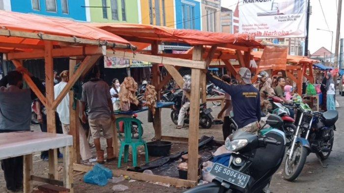 Kisah Pilu Pedagang Daging Sapi Dadakan di Tanggamus Lampung, Penjualan Turun karena Covid-19