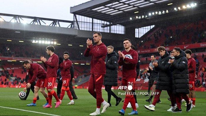 KLASEMEN Akhir Liga Inggris 2021, Liverpool dan Chelsea Amankan 4 Besar