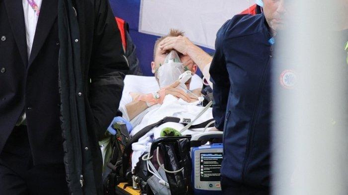 EURO 2020, Christian Eriksen Dibawa ke Rumah Sakit