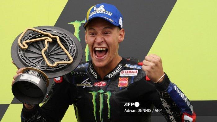 MotoGP 2021 Aragon, Quartararo Nikmati Sisa Balapan Musim Ini Setelah Mendulang Poin Tinggi