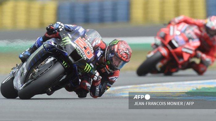 Jadwal MotoGP 2021 Italia, Posisi Fabio Quartararo Belum Aman