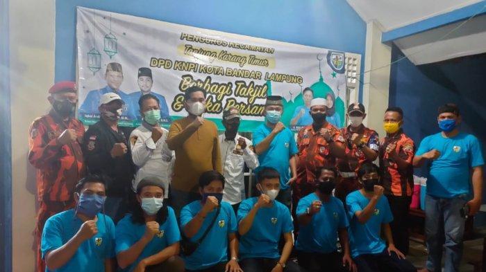 KNPI Bandar Lampung Buka Puasa Bersama dengan PK KNPI Tanjungkarang Timur