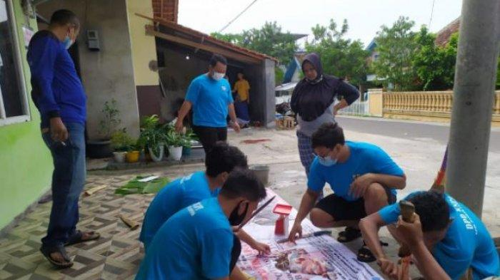 HUT KNPI Ke-48, DPD KNPI Bandar Lampung Kurban Serentak di Beberapa Kecamatan