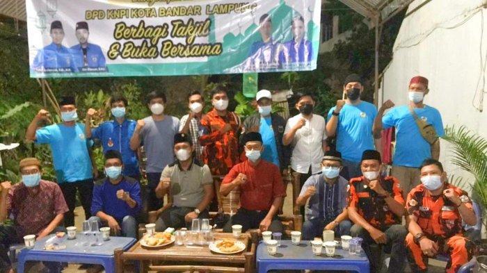 KNPI Langkapura Bandar Lampung Terus Berbagi Warnai Bulan Suci Ramadhan
