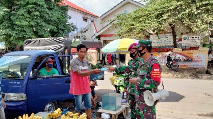 Satgas Covid 19 Disiplinkan Prokes Warga di 20 Kecamatan Bandar Lampung