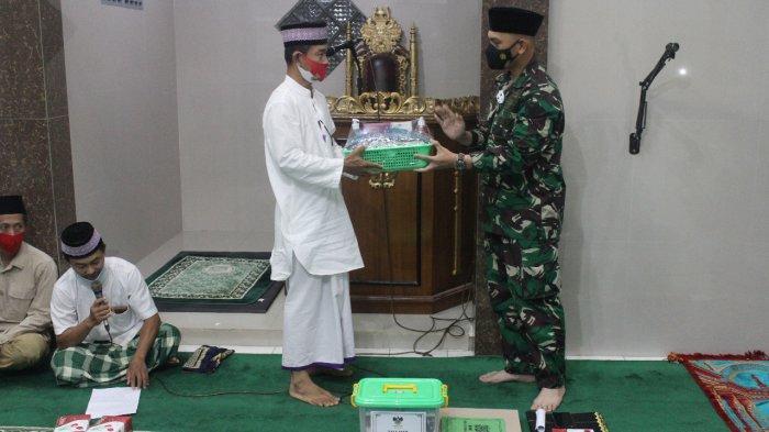 Manunggal Subuh, Kolonel Inf Romas Herlandes Kunjungi Masjid Jami'atul Mu'minin Kemiling