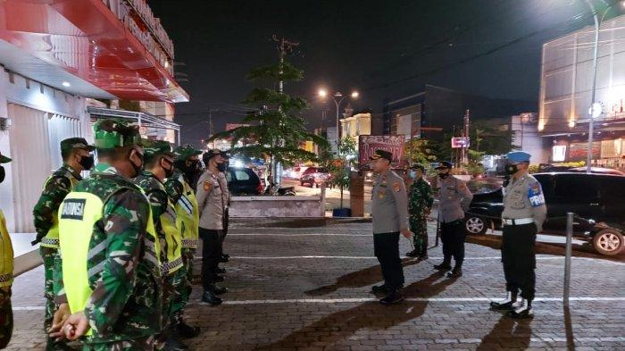 Tingkatkan Keamanan, Kodim 04010/KBL Gelar Patroli Gabungan TNI - POLRI
