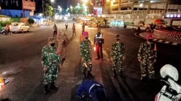 Satgas Covid 19 Kota Bandar Lampung Patroli Prokes dan 3M Hingga Malam Hari