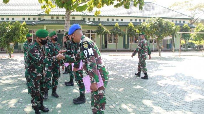 Dandim 0426/Tulangbawang Lampung Lepas Bintara Pindah Satuan