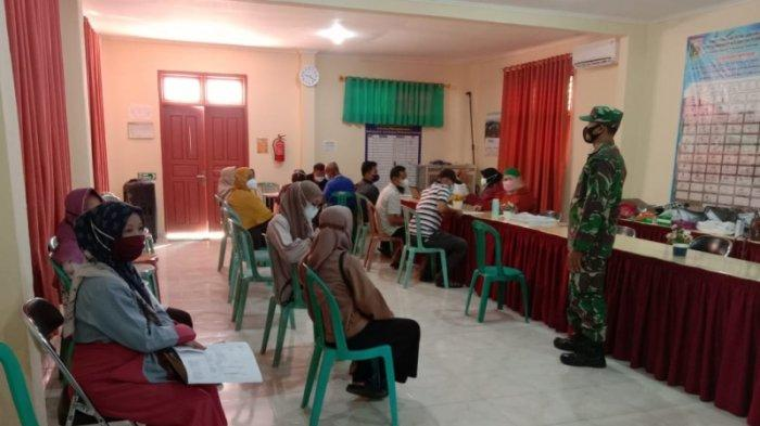 Kodim 0429/Lampung Timur Fasilitasi 900 Dosis Vaksin Tahap I untuk Warga