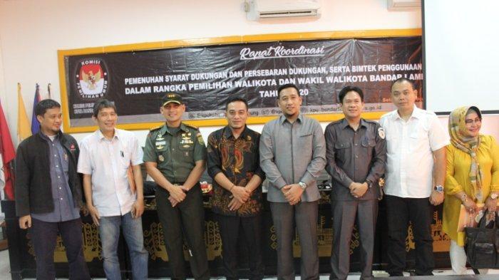 Dandim Hadiri Rapat Koordinasi Dalam Rangka Pilkada Kota Bandar Lampung