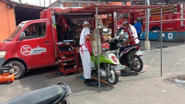AHASS Lampung Service Visit di Kantor BPBD Bandar Lampung