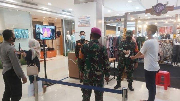 Antisipasi Penularan Covid 19, Satgas Edukasi Prokes dan 3M di Mall MBK