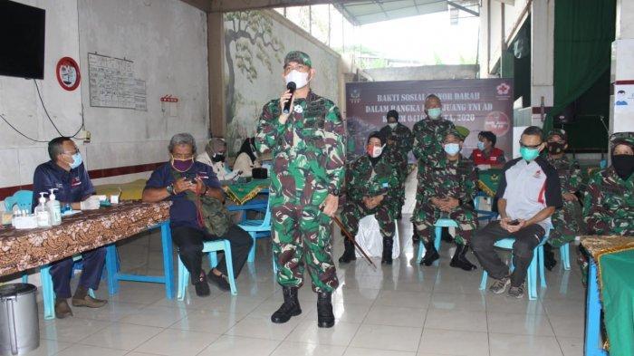 Dandim 0410 Bandar Lampung Hadiri Kegiatan Baksos Donor Darah Bersama Yayasan Suka Insani